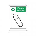 "Accuform MPLR678VA, 14″ x 10″ Safety Sign ""Plastic Bottles"""