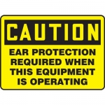 """Accuform MPPA634XF10, 10″ x 14″ Safety Sign """"Ear Protection …"""""""