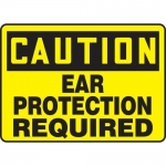 """Accuform MPPA669XF10, 7″ x 10″ Safety Sign """"Ear Protection Required"""""""