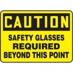 "Accuform MPPA703XV10, 10″ x 14″ OSHA Safety Sign ""Safety Glasses …"""