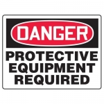 "Accuform MPPE158XF10, 18″ x 24″ Safety Sign ""Protective Equipment …"""