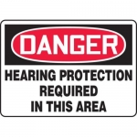 """Accuform MPPE220XL10, 14″ x 20″ Safety Sign """"Hearing Protection …"""""""