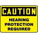 """Accuform MPPE427XL10, 14″ x 20″ Safety Sign """"Hearing Protection …"""""""