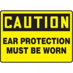 """Accuform MPPE617XF10, 10″ x 14″ OSHA Safety Sign """"Ear Protection …"""""""