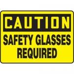 "Accuform MPPE641XV10, 7″ x 10″ OSHA Safety Sign ""Safety Glasses …"""