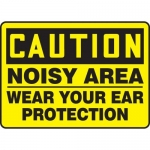 "Accuform MPPE644XF10, 10″ x 14″ OSHA Safety Sign ""Noisy Area …"""