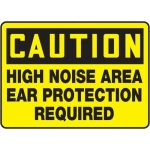 "Accuform MPPE652XF10, 10″ x 14″ OSHA Safety Sign ""High Noise Area …"""
