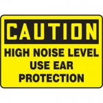 "Accuform MPPE670XF10, 10″ x 14″ OSHA Safety Sign ""High Noise Level…"""