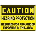 "Accuform MPPE671XF10, 10″ x 14″ Safety Sign ""Hearing Protection …"""