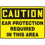 """Accuform MPPE682XF10, 10″ x 14″ OSHA Safety Sign """"Ear Protection …"""""""
