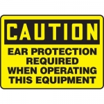 """Accuform MPPE711XF10, 10″ x 14″ OSHA Safety Sign """"Ear Protection …"""""""
