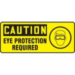 "Accuform MPPE730XF10, 7″ x 17″ OSHA Safety Sign ""Eye Protection …"""