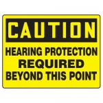 "Accuform MPPE781XF10, 18″ x 24″ Safety Sign ""Hearing Protection …"""