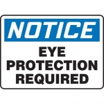 "Accuform MPPE878XF, 7″ x 10″ OSHA Safety Sign ""Eye Protection …"""