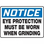 "Accuform MPPE880XF, 7″ x 10″ OSHA Safety Sign ""Eye Protection …"""