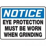 "Accuform MPPE880XL, 7″ x 10″ OSHA Safety Sign ""Eye Protection …"""