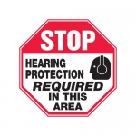 """Accuform MPPE908XF10, 12″ x 12″ Safety Sign """"Hearing Protection …"""""""