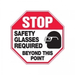 """Accuform MPPE920XF, 12″ x 12″ Safety Sign """"Safety Glasses …"""""""