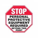 """Accuform MPPE924XF, 12″ x 12″ Safety Sign """"Personal Protective …"""""""