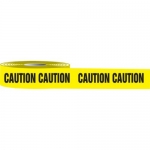 """Accuform MPT00, 3″ x 1000-ft Barricade Tape """"Caution"""""""