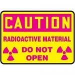 "Accuform MRAD667XP, 10″ x 14″ OSHA Safety Sign ""Radioactive …"""