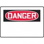 Accuform MRBH205XP, 10″ x 14″ OSHA Danger Safety Sign Blank