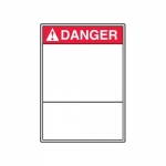 Accuform MRBH209XT10, 10″ x 7″ ANSI Safety Sign Blank