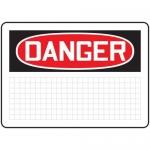 Accuform MRBH261XV10, 7″ x 10″ OSHA Danger Safety Sign Blank
