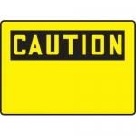 Accuform MRBH607XL, 7″ x 10″ OSHA Caution Safety Sign Blank