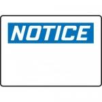 Accuform MRBH840XV, 14″ x 20″ OSHA Notice Safety Sign Blank