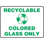 """Accuform MRCY526VS10, 10″ x 14″ Safety Sign """"Recyclable …"""""""