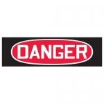 Accuform MRHH107XV10, 5-7/8″ x 18″ OSHA Safety Sign Header