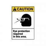 "Accuform MRPE630VP10, 10″ x 7″ ANSI Safety Sign ""Eye Protection …"""