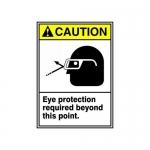 "Accuform MRPE636XT, 10″ x 7″ ANSI Safety Sign ""Eye Protection …"""