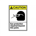 "Accuform MRPE637XT, 14″ x 10″ Safety Sign ""Eye Protection …"""