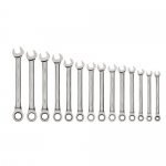Williams MWS-1124NRC, 14-Piece 6-19mm Combination Wrench Set in Pouch