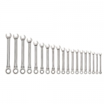 Williams MWS-1125NRC, 19-Piece 6-24mm Combination Wrench Set in Pouch