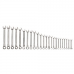 Williams MWS-1126NRC, 25-Piece 6-32mm Combination Wrench Set in Pouch