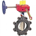 NIBCO NLG801F, LD-3510-8 3″ Butterfly Valve, w/Gear Operator, w/Switch