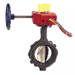 NIBCO NLH801H, WD-3510-8 4″ Butterfly Valve, w/Gear Operator & Switch