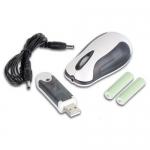 Velleman PCM6, Wireless & Rechargeable Mini Optical Computer Mouse