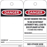 NMC DL82BTB25 2212 9 Dangerous Goods Dot Placard Sign