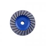 Diamond Vantage S-07HDZGX3-M, Medium Grit, Blue Cup Wheel, Turbo Rim