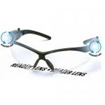 Pyramex SB6310STPLEDR15, PMXtreme Anti-Fog Lens w/ LED Temples