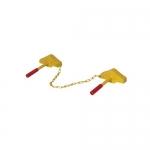 Vestil SRC/SRC, Steel Single Rail Chock/Single Rail Chock Combo