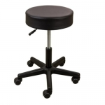 Roscoe Medical SS7677, Pneumatic Black Stool w/ Adjustable Height Seat