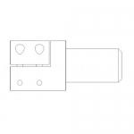 Climax Metal SUA-125, SUA – Series Clamp-On Adapter, Steel, BO