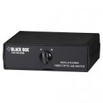BlackBox SW1033A, Fiber Optic A/B Switch Non-Latching Sm W/St Con