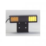 North American Signal Company TA9L-A, Amber Deck Light w/ 2 x LED Lamp