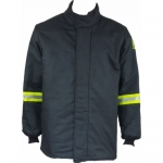 Oberon Company TCG100-CT-L, TCG100 PPE6 Arc Flash Black Hip Coat, L